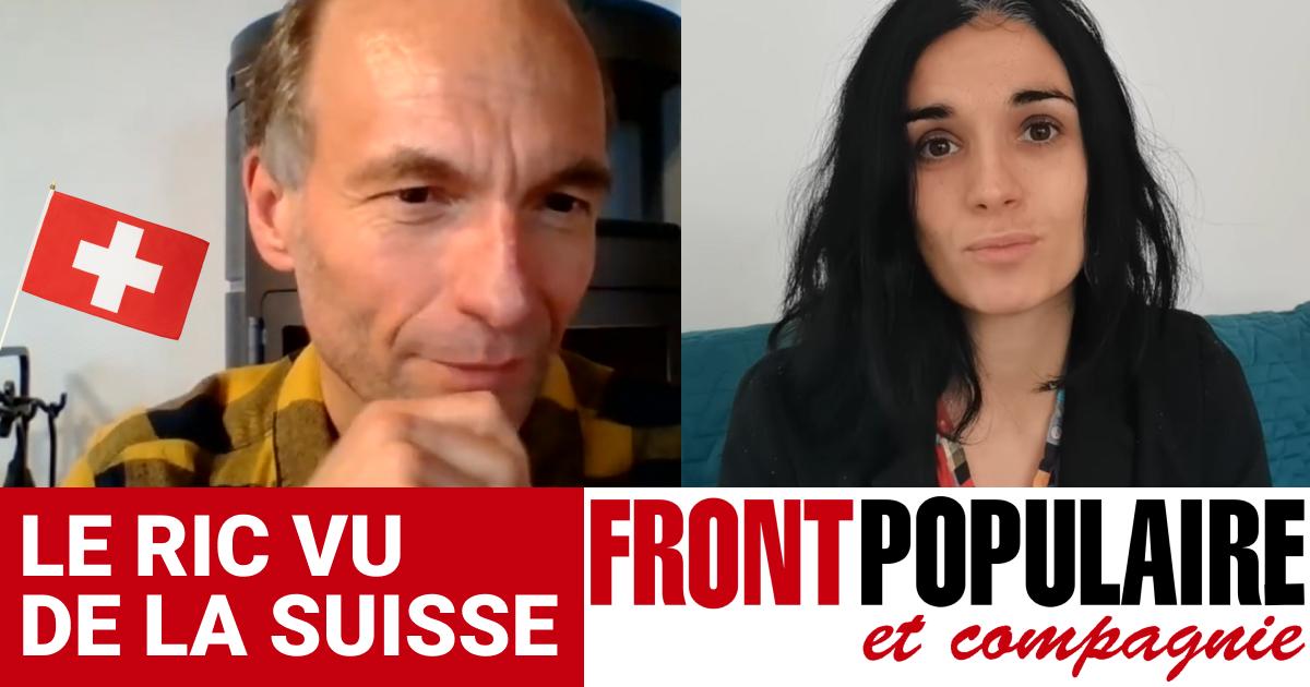 Le RIC vu de Suisse : Pierre-Alain et Clara d'Espoir RIC 2022 en live sur Front Populaire et Compagnie