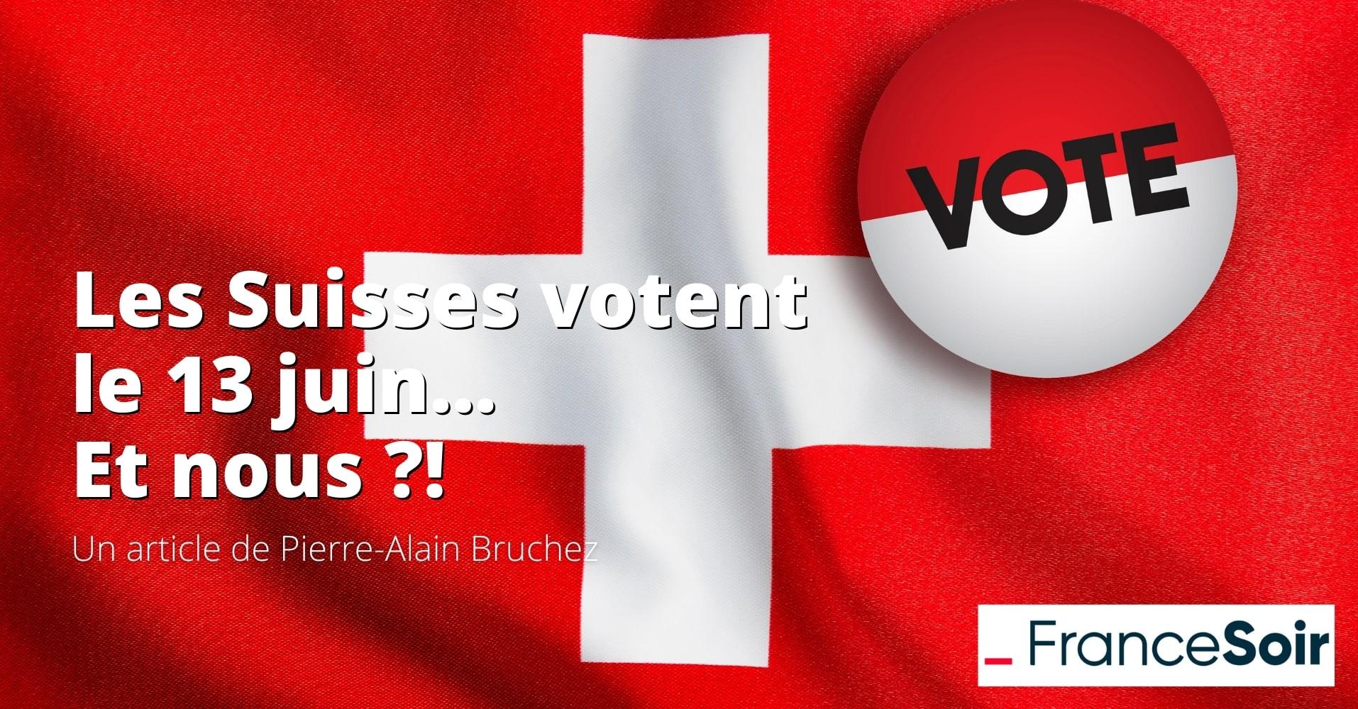 Les Suisses votent sur cinq sujets le 13 juin : une inspiration pour la France ?